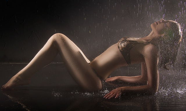mokrý sex