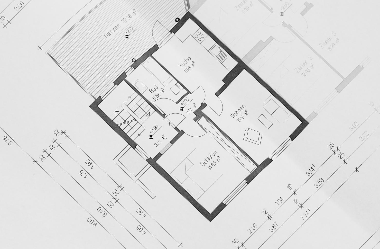 plán architektúry