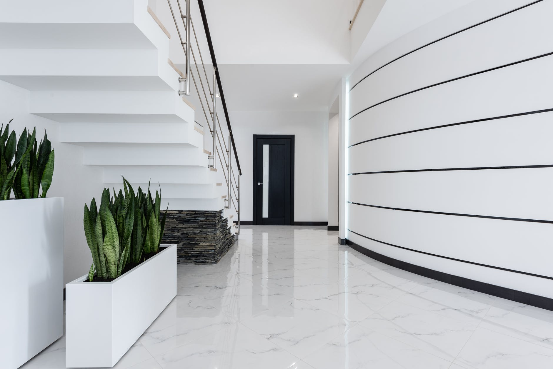 schody, interiér